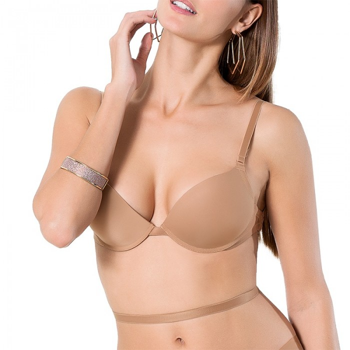 Σουτιέν Luna SECRET push-up (14019) multiway strapless